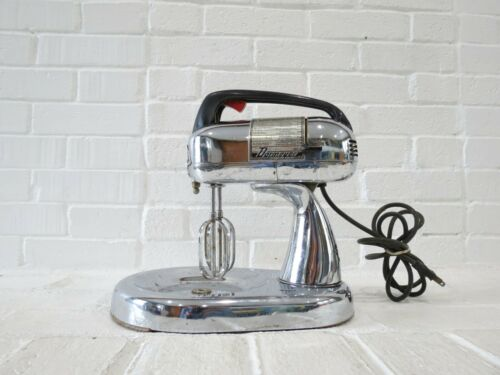 Dormeyer Silver Star Mixer Vintage Chrome Stand Mixer Mid Century Model 4400