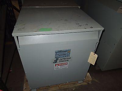 Jefferson 150kva 480-115v 3ph Dry Type Transformer Used Electrically Ok