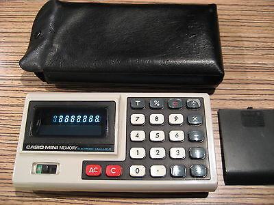 Taschenrechner Casio Mini Memory Weiss (Mini-taschenrechner Casio)