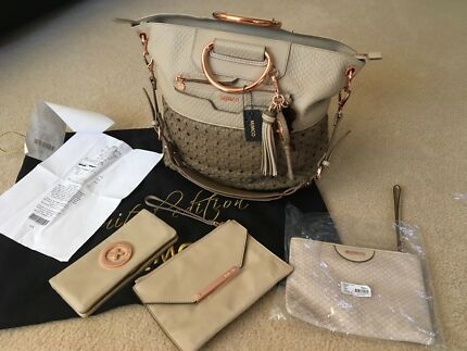 "MIMCO LIMITED EDITION BAG ""THE RULEBREAKER TOTE"" 32/50"