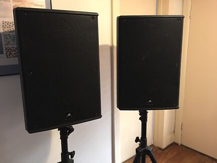 Hire: PA Speakers. DJ Events + House Parties (500w RMS. Very Loud)