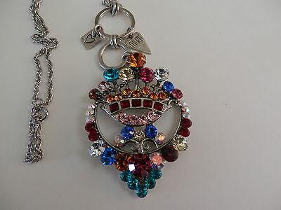 """Gebruikt, Otazu MAJESTIC Swarovski Crystal Pendant & Chain Necklace   31"""" tweedehands  verschepen naar Netherlands"""