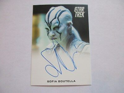2017 Star Trek Beyond Trading Cards Sofia Boutella as Jaylah Autograph Card -FB