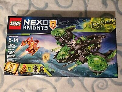 LEGO 72003 Nexo Knights Berserker Bomber New, Sealed