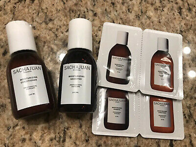 Sachajuan Color Protect Set Shampoo & Conditioner 2 x 100 ml 3.4 oz Each + BONUS