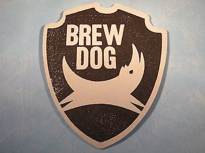 Beer Coaster     Brewdog Brewery Craft Brewery    Ellon  Aberdeenshire  Scotland