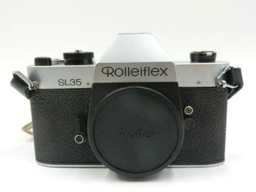 VINTAGE ROLLIEFLEX SL35 SLR CAMERA BODY ONLY SINGAPORE ~ FOR PARTS OR REPAIR