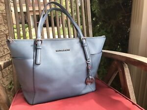 Michael Kors Jet Set Top Zip Saffiano Leather Tote - Used Once
