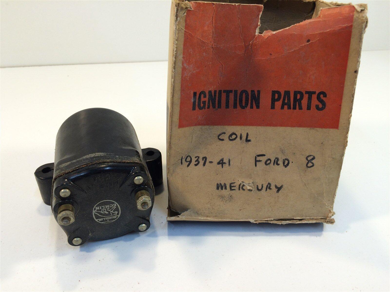 1937-1941 Ford 8 Coil Mercury Echlin Made In USA 1GA-12024