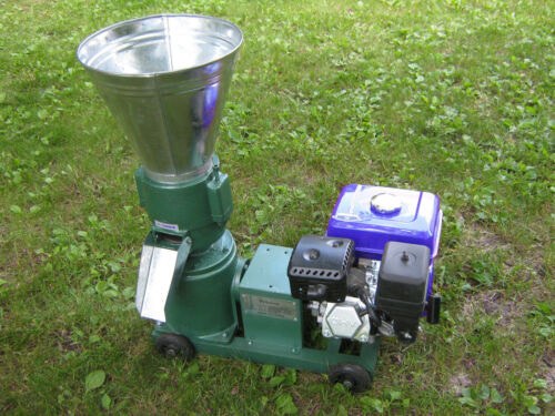 """Model 150 6"""" 7.5hp gas power Pellet Mill. USA In Stock. Free Shipping!"""