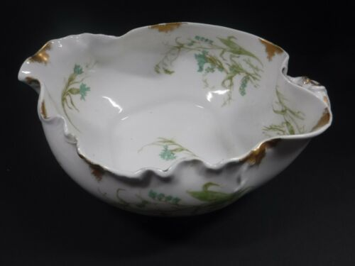 Vintage Haviland And Company Limoges H & Co Serving Bowl With Handle