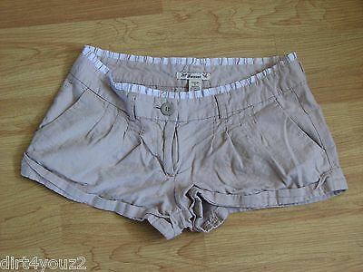 - Forever 21 Juniors Size Medium Beige Shorts Inseam 2 Length 10 No Holes or Tears