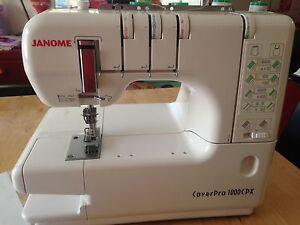 Janome Coverpro 1000CPX Sewing Machine Baldivis Rockingham Area Preview