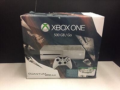 Xbox One 500GB White Quantum Break Console Bundle!