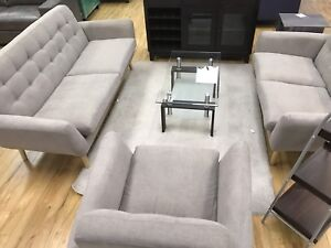 Brand new fabric Sofa 3 pc set for $1089