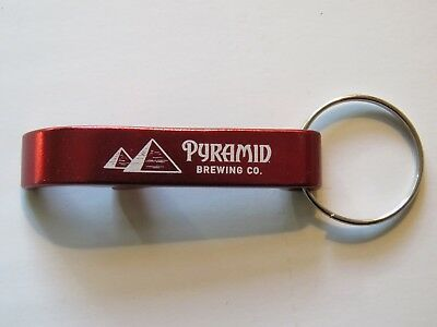 (Key Chain Metal Bottle Opener ~ PYRAMID Brewing Co ~ OREGON & WASHINGTON Brewery)