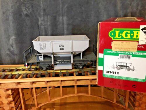 LGB 4141 European OEG Four-Wheel Ballast Car * G Scale * Original Box *