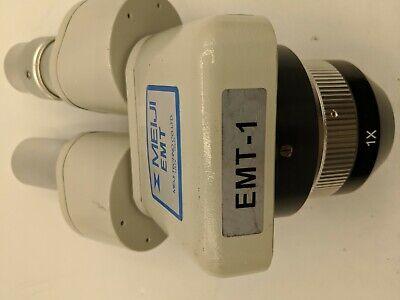 Meiji Emt-1 Lab Stereo Microscope Japanese
