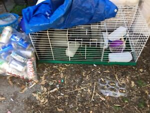 Small Animals Cage and Miscellaneous Items