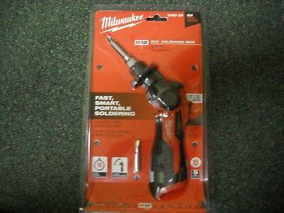 Milwaukee 2488-20 M12 Cordless Soldering Iron New