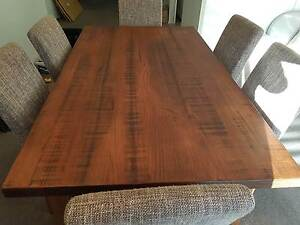 Wooden dining table set from Coonawarra Furnitures for sale Little Bay Eastern Suburbs Preview