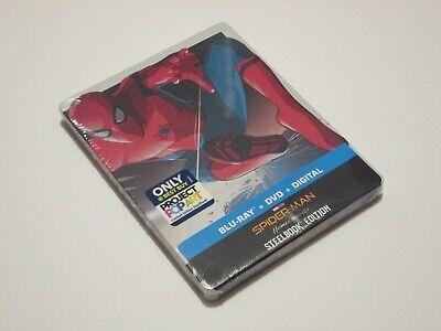 Spider-Man: Homecoming Blu-ray + DVD + Digital Exclusive Steel (Spider Man Homecoming Special Edition Blu Ray)