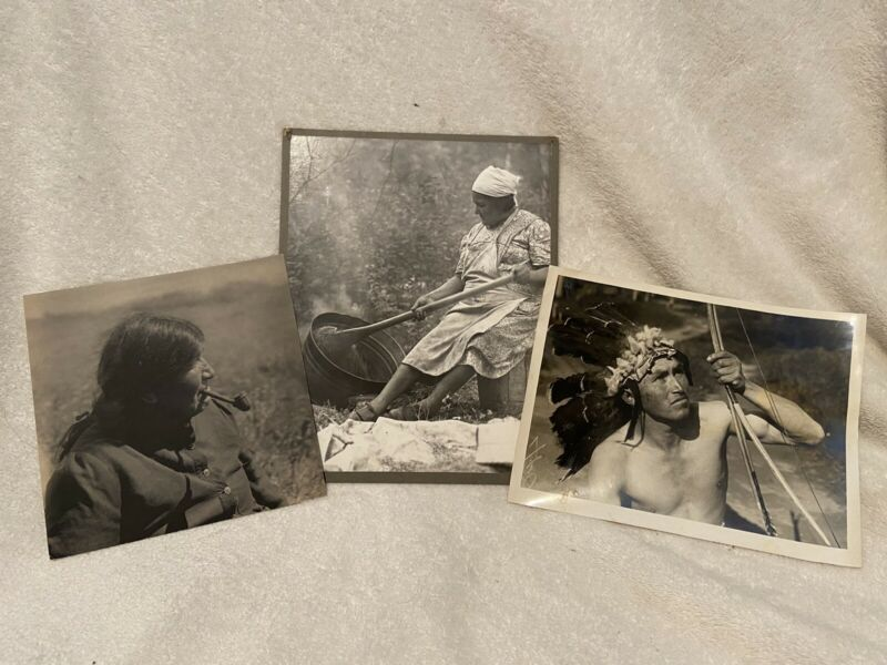 Native American Photograph Lot
