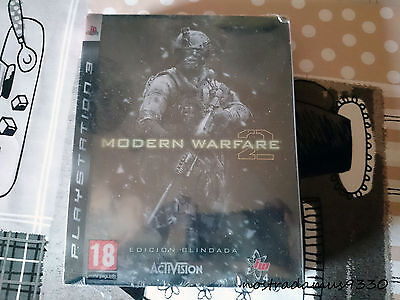 Call of Duty Modern Warfare 2 Edición Blindada PAL ESP NUEVO PRECINTADO...