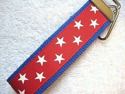 - PATRIOTIC STARS Key Fobs (really cute keychains)