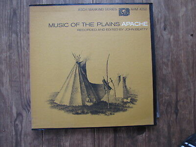 "LP - JOHN BEATTY - MUSIC OF THE PLAINS APACHE ""TOPZUSTAND!"""