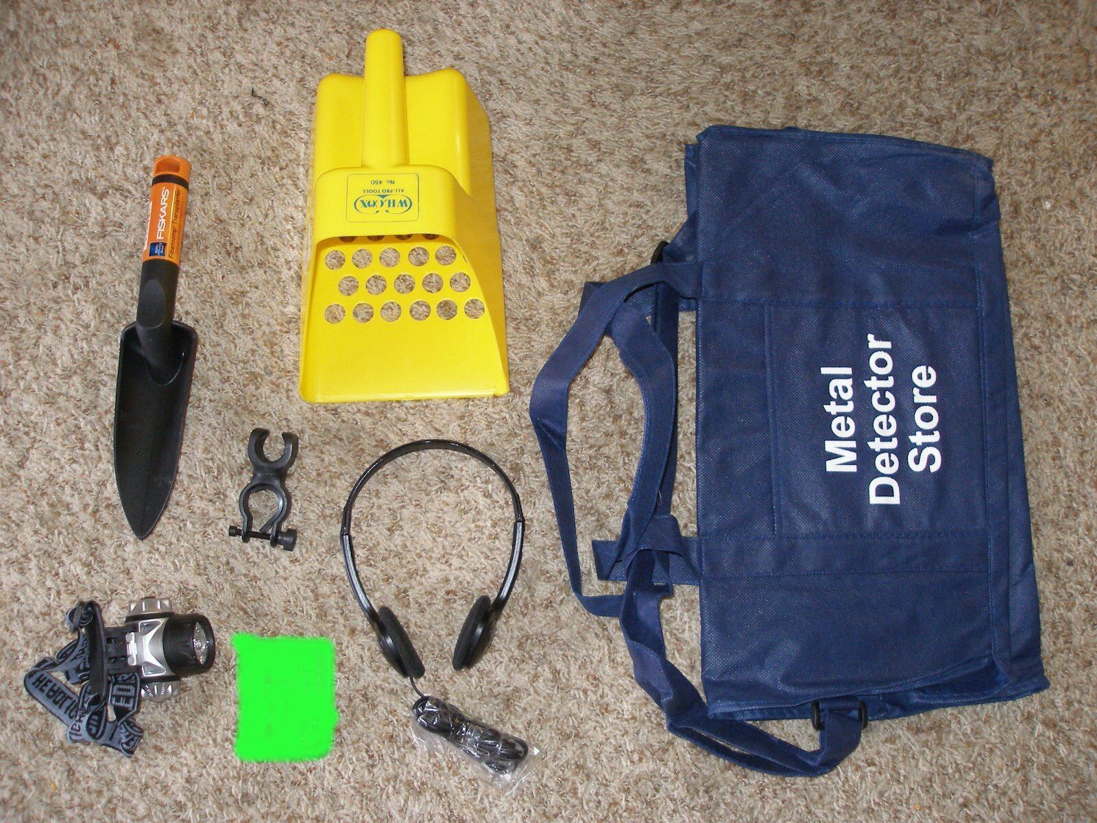 Metal Detector Accessory Combo # 3 Save money -brand new items!