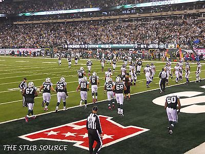 2 New York Jets PSL Season Ticket Rights 2nd Row LOWER LEVEL 129 Aisle & Parking