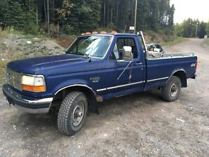 Ford F250  Regular cab longbox diesel 7.3L