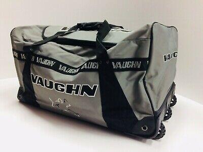 New Vaughn 9200 ice hockey goalie three wheeled bag intermed