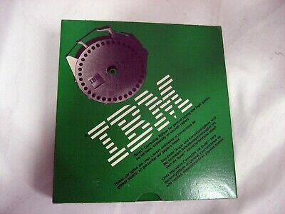 New Genuine Oem Ibm Quietwriter Correctable Green Box 1299602 Ribbon Wwarranty