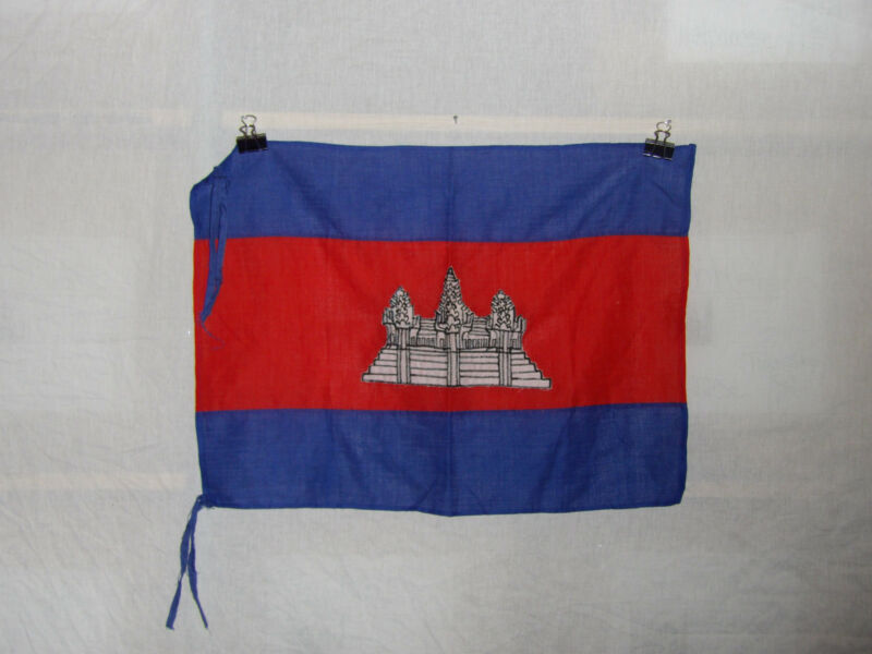 flag644 Vietnam Khymer Kampuchea Cambodian Cambodia flag