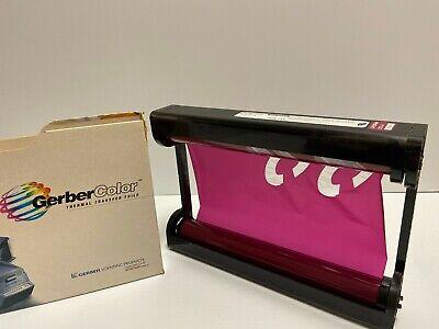 Gerbercolor Edge Transfer Foil - Gcs Series Gcs-133 - Color Raspberry