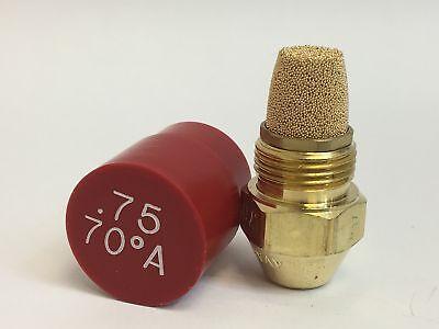 Set Of 12 Delavan Fine Filter Oil Burning Nozzle .75 70a 00075-70a1