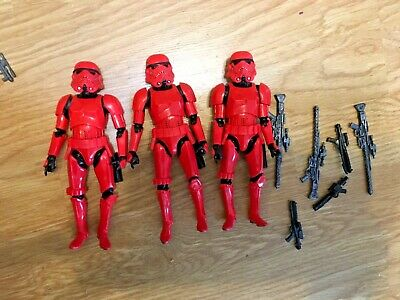 Star Wars Black Series 6 Inch Lot: Crimson Magma Stormtrooper 1 figure listing