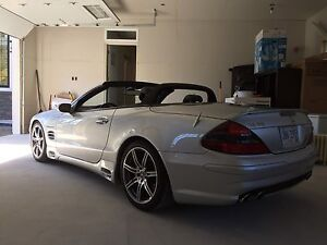 Mercedes SL 55 AMG convertible