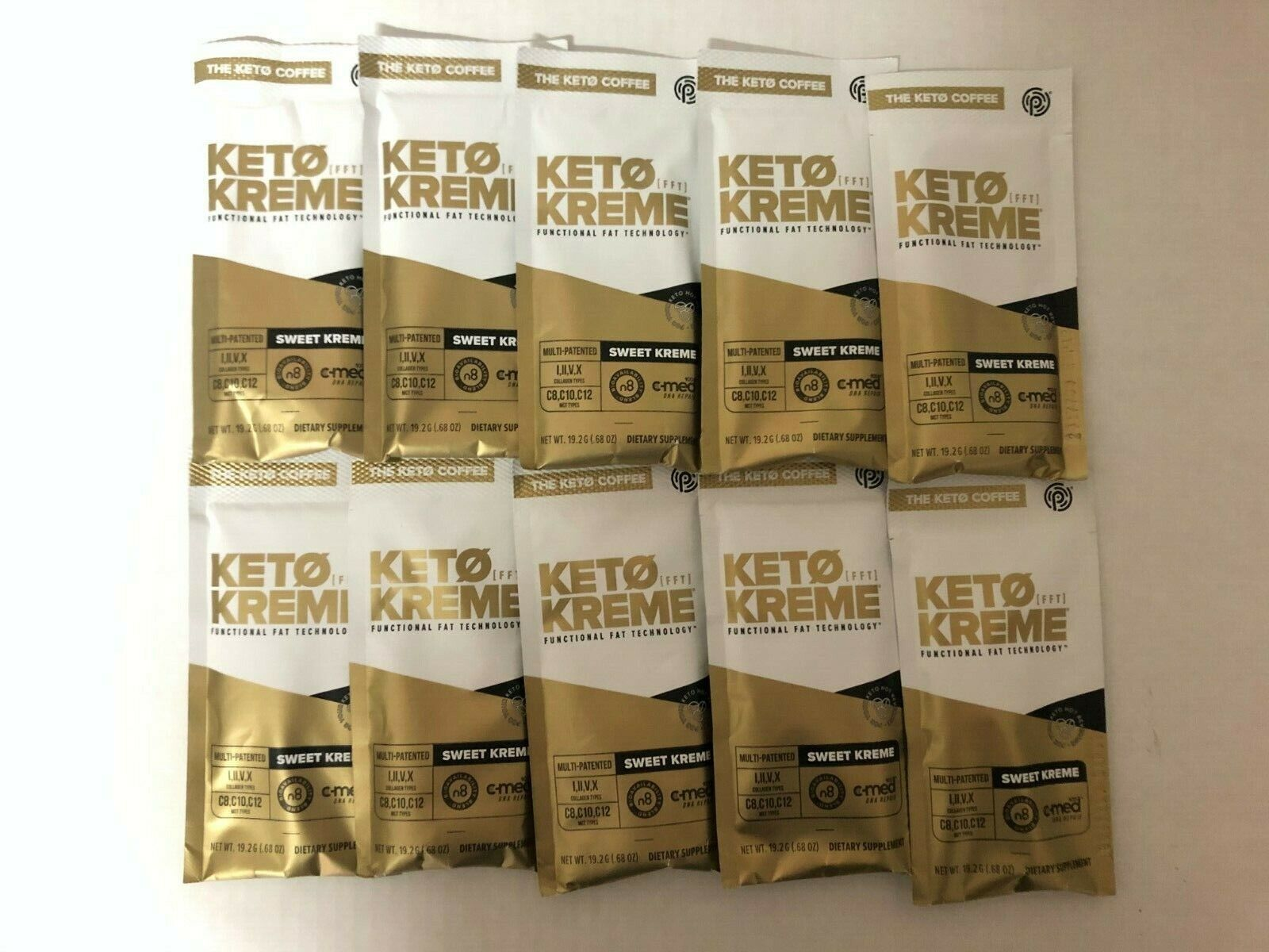 Pruvit Keto Sweet Kreme 5,10 & 20 Packets Flavor Dietary Supplement FreeShipping 1