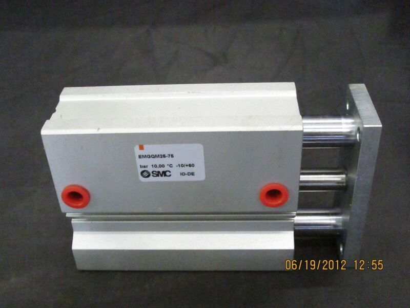 SMC Guide Slide Cylinder Actuator Cylinder EMGQM25-75