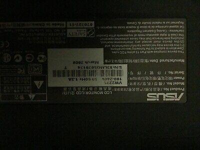 """ASUS VW222S monitor piatto per PC 55,9 cm (22"""") 1680 x 1050 Pixel"""