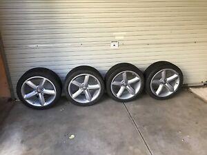 "18"" wheels - Audi A4 S4 A5 S5 wheels - 18x8j"