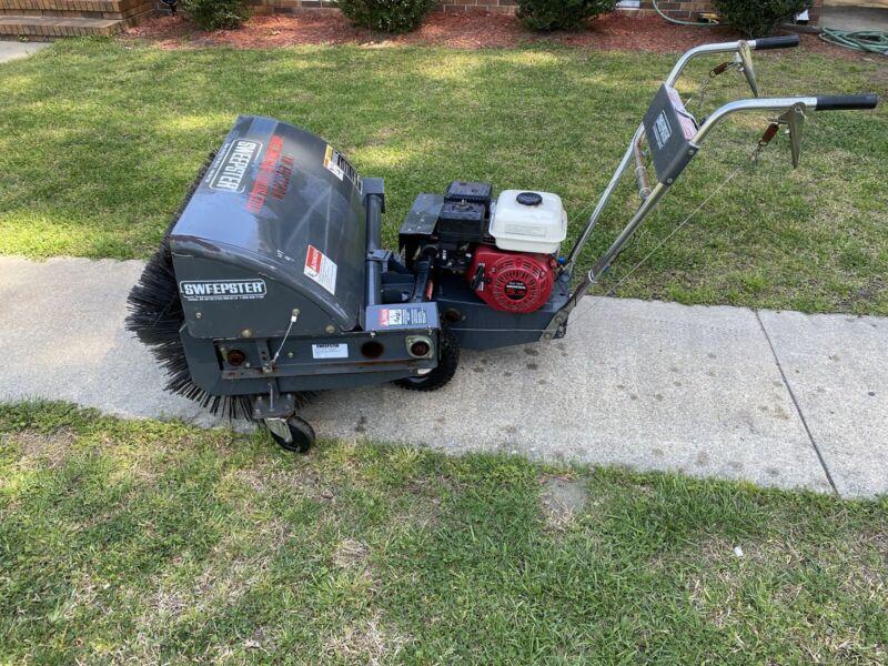 """Sweepster C36TWHPD1  36"""" Walk Behind Sweeper Honda GX160 5.5 Hp Engine"""