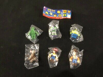 Toy Story 2 Lego Duplo Box Figure Collection Complete Set of 6 Woody Buzz Jessie