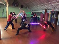 Lightsaber Duelling Club