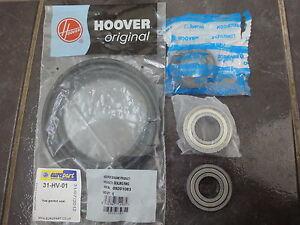 HOOVER CANDY DRUM BEARING & SEALS HNL6166-80  HNWF7148-80 HW160 6205Z 6206Z
