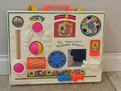 VINTAGE 1988 Fisher Price Activity Center very good condition