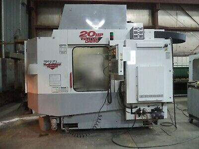 1998 Haas Model Hs-1 Horizontal 4 Axes Machining Center Dual Pallet